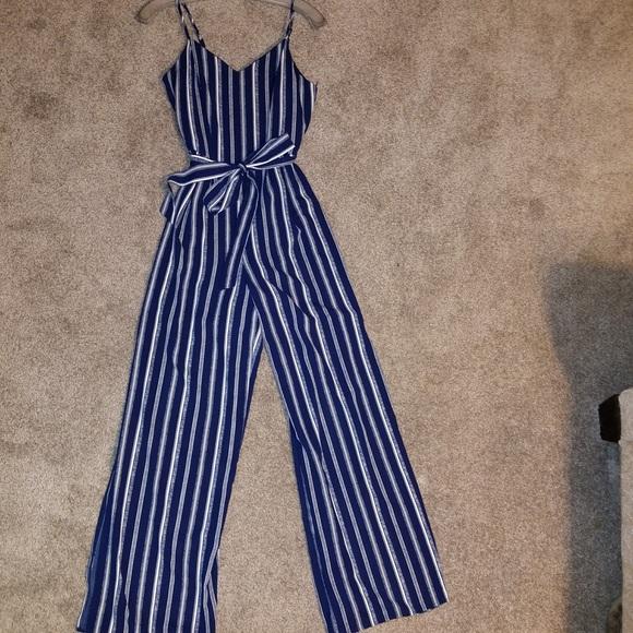 4b9ebb0b0167 Striped jumpsuit size S. M 5a9218e9a6e3ea6762035f09. Other Pants ...